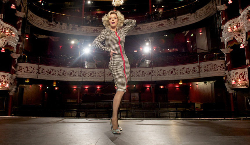 Pantibliss on stage